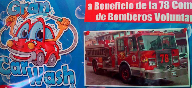 car wash bomberos voluntarios
